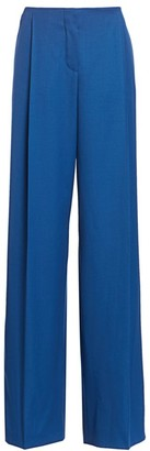 Nina Ricci Virgin Wool Wide-Leg Trousers