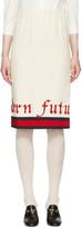 Gucci Off-white modern Future Gardenia Skirt