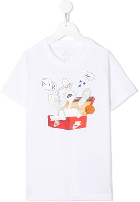 Nike Kids Big Kids graphic-pint T-Shirt