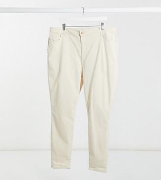 Vero Moda Tall Vero Moda Curve skinny jeans in white