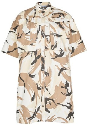 Kenzo Printed shirt dress