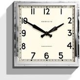 Newgate Clocks - Large Embankment Clock - Stainless Steel