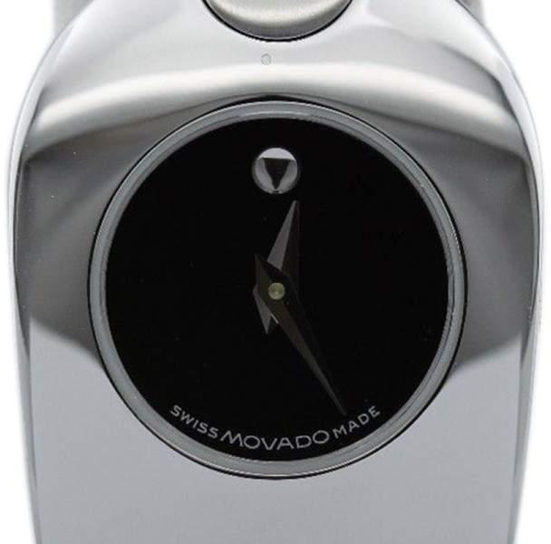 Movado Tiema Museum Stainless Steel Timepiece Womens Watch