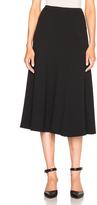 Rosetta Getty Ribbed Flare Skirt