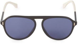 Fendi 56M Aviator Sunglasses