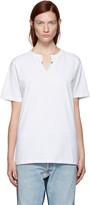 Off-White SSENSE Exclusive White Crew Cut T-Shirt