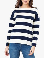 Joules Uma Milano Stripe Cotton Jumper