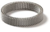 Topman Stainless Steel Mesh Ring*