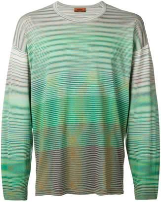 Missoni striped long sleeved T-shirt