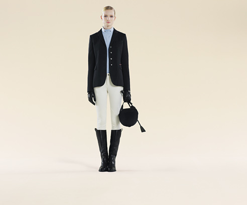 Gucci Collection White Riding Pant From Equestrian Collection