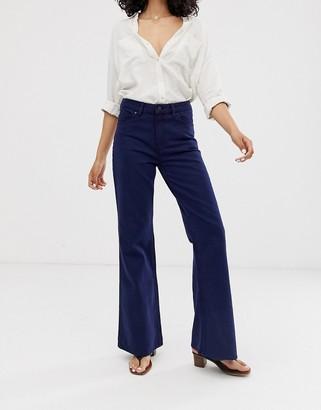 WÅVEN Fenn flared jeans-Navy
