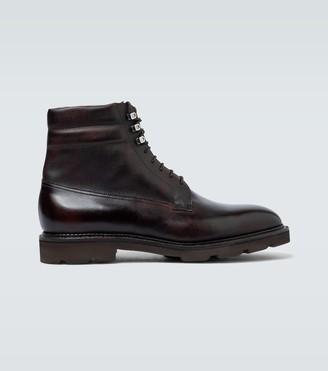 John Lobb Alder leather boots