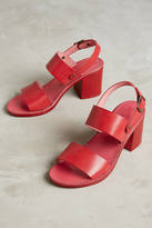 Anthropologie Liendo by Seychelles State Of Mind Slingback Block-Heeled Sandals