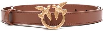 Pinko Slim Leather Belt