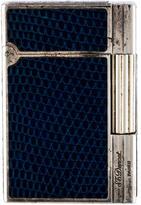 S.t. Dupont Blue Lizard Lighter