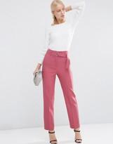 Asos Highwaist Pants With Belt Detail