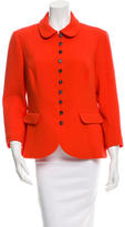 Nina Ricci Long Sleeve Fitted Coat