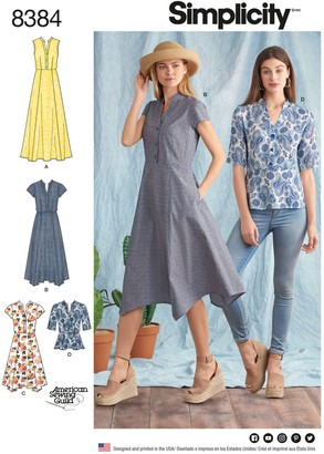 Simplicity Women's Dress Sewing Pattern, 8384