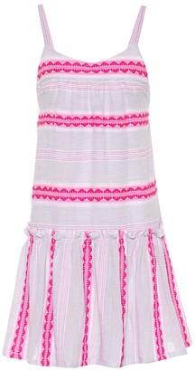 Lemlem Riban striped cotton-blend dress