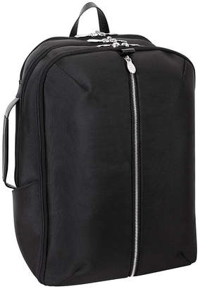 "McKlein Englewood 17"" Nylon Triple Compartment Laptop Tablet Weekend Backpack"