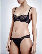Calvin Klein Black Sensual balconette bra