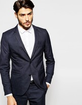 Jack and Jones Tonal Check Suit Jacket in Slim Fit