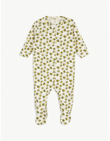 Bonnie Mob Rainbow print cotton sleepsuit 0-24 months
