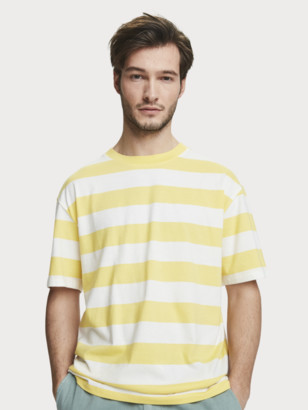 Scotch & Soda Striped Jersey T-Shirt   Men