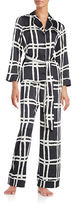 Kate Spade Windowpane Pajama Set