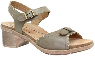 Dromedaris Leather Sandals - Sandy