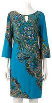 Ronni Nicole Women's Paisley Shift Dress