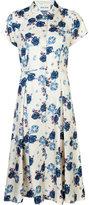 Michel Klein floral print buttoned dress - women - Silk - 42