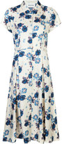Michel Klein floral print buttoned dress