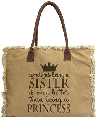 Vintage Addiction Sister Canvas Tote Bag