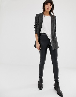 AllSaints cora faux leather leggings