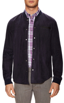 Vince Suede Spray Back Shirt Jacket