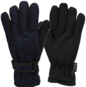 Epoch Hats Company Herringbone Wool Blend Glove