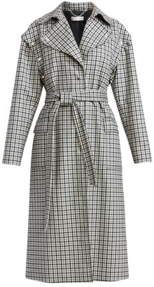 Altuzarra Fisher Plaid Trench Coat