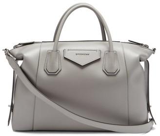Givenchy Antigona Soft Medium Leather Bag - Grey