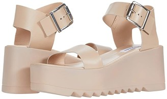 Steve Madden Lake Wedge Sandal (Blush Leather) Women's Shoes