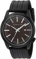 Momentum Men's 1M-SP14C1B Logic Analog Display Japanese Quartz Black Watch