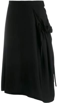Y's asymmetrical skirt