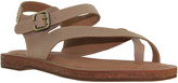 Gee WaWa Natural Montana Leather Sandal