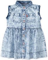 Levi's Levi's® Acid-Wash Denim Cotton Dress, Baby Girls (0-24 months)