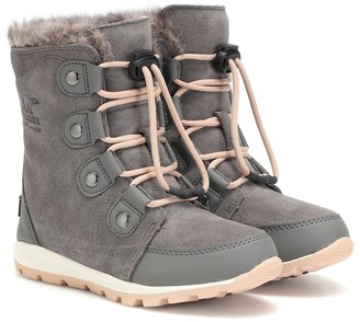 Sorel Whitney suede ankle boots