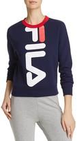 Fila Mona Crop Logo Sweatshirt