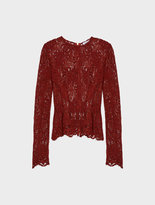 DKNY Flower Lace Blouse