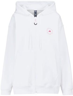 adidas by Stella McCartney Organic cotton-blend hoodie