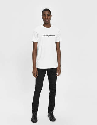 The New York Times S/S Logo Tee in White