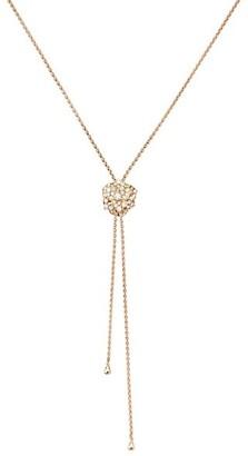 Piaget Rose 18K Rose Gold & Diamond Pendant Lariat Necklace